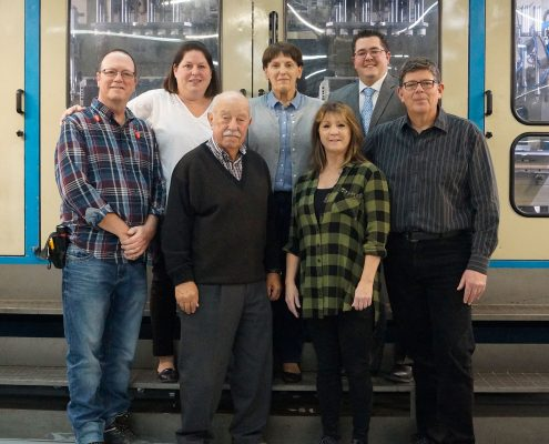 Weber International Packaging Team in Vaudreuil, Quebec, Canada