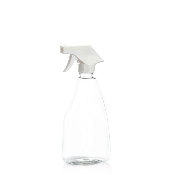 500ml trigger sprayer bottle, PET plastic