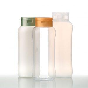 GEHE-style plastic bottles