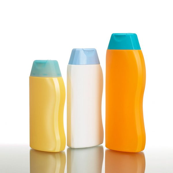 Plastic bottles for health and beauty, HSCR-U