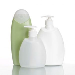 Plastic bottles for cream, with and without pump, DOND and SC