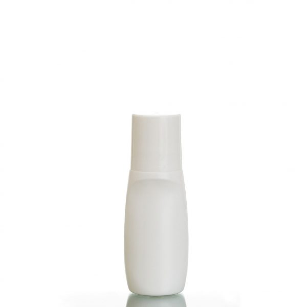 plastic roll-on bottle - tapered oval