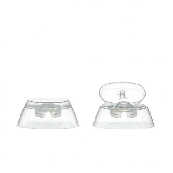 Flip-top, Snap on caps for plastic bottles, Mir2