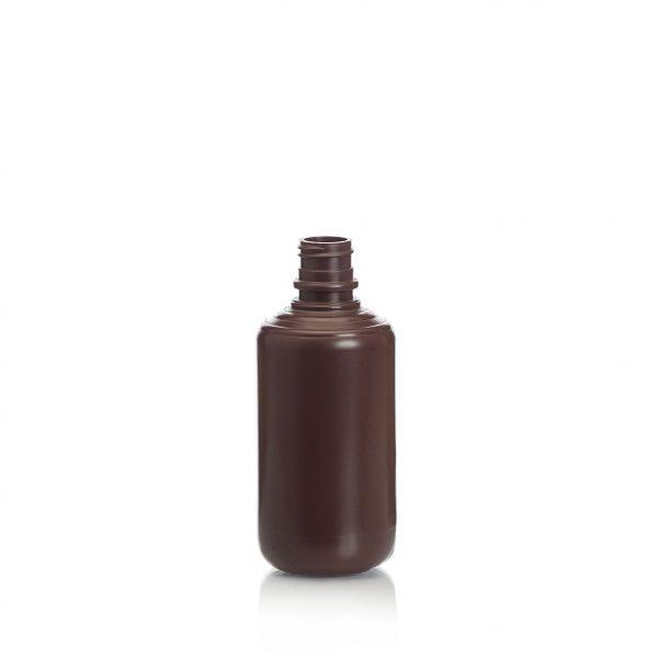 plastic bottle for molasses, 250ml HDPE